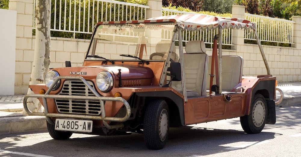Driving a Mini Moke is one of the most fun things to do in St. Tropez