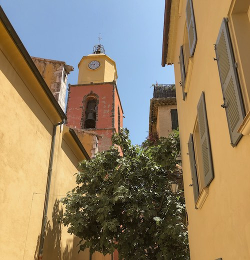 The streets of La Ponche district St. Tropez France