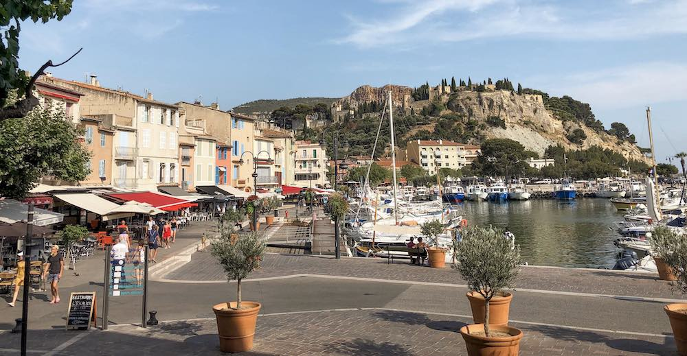 The port of Cassis, an excellent day trip from St Tropez France