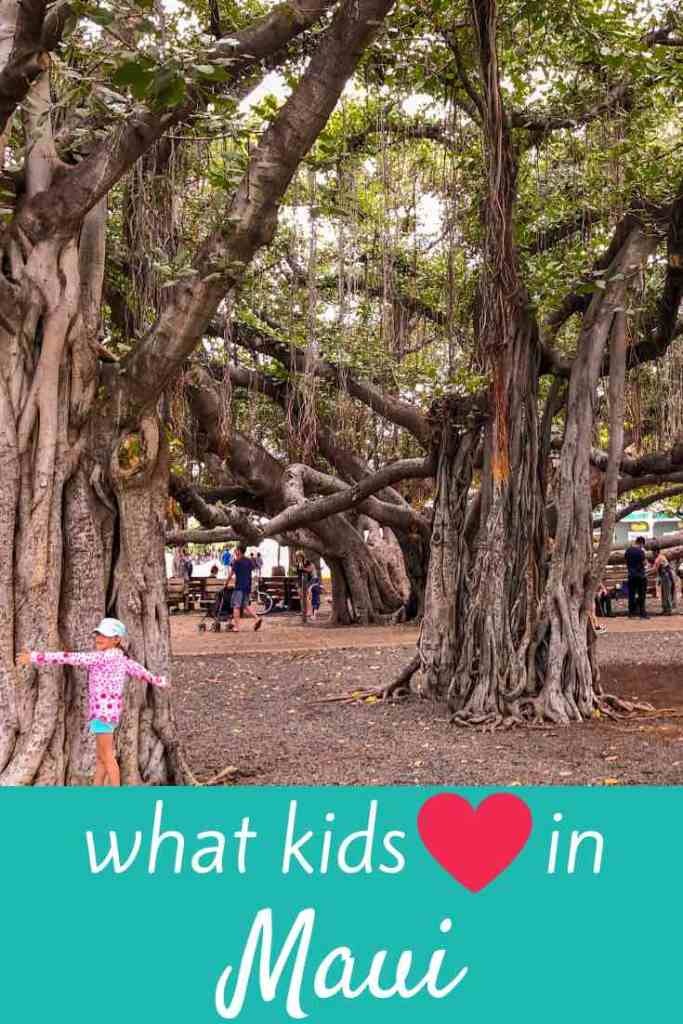 #Maui is Hawaii's renowned resort destination. But did you know there's also plenty to explore, even if you're traveling with kids? Click the pin to read all about our favorite things to do in Maui with kids. Thanks for repinning! #familytravel #hawaii