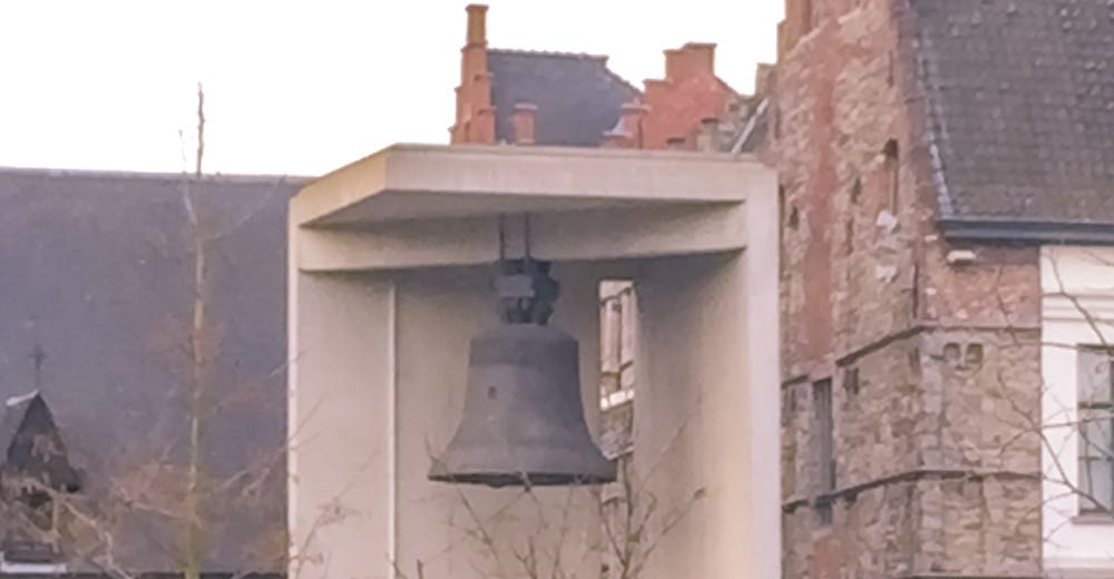 Bell Roland at the Emile Braunplein in Ghent