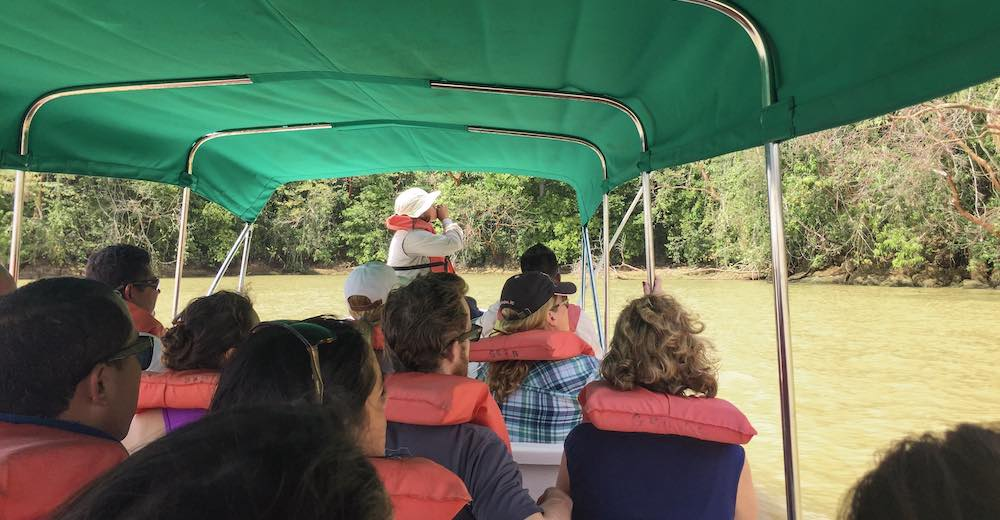 Boat tour to Monkey Island is as one of those fun things to do in Panama City Panama