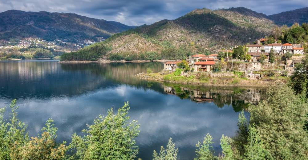 Green setting of Peneda-Gerês, the only national park and a must-see in Portugal