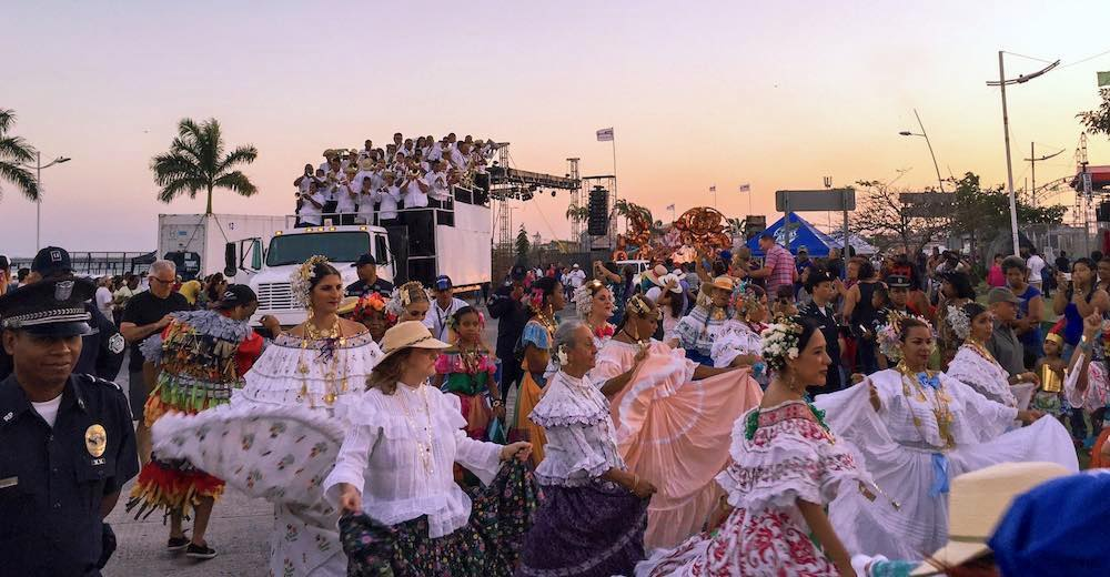 Carnival in Panama means four days of dancing and partying