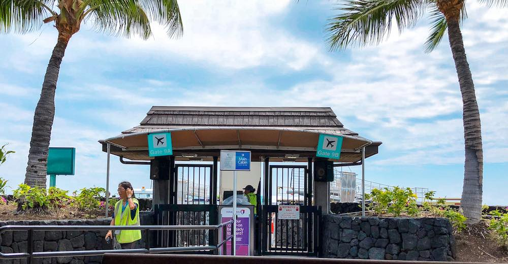 Hawaii airports Big Island allow to travel between islands in Hawaii