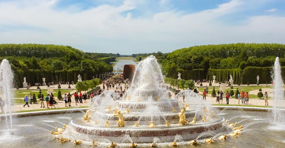 Versailles garden tour is a highlight of every Paris Versailles day trip