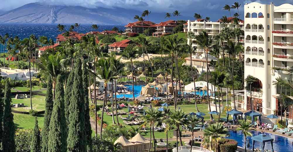Fairmont Kea Lani is one of the most family friendly Maui resorts