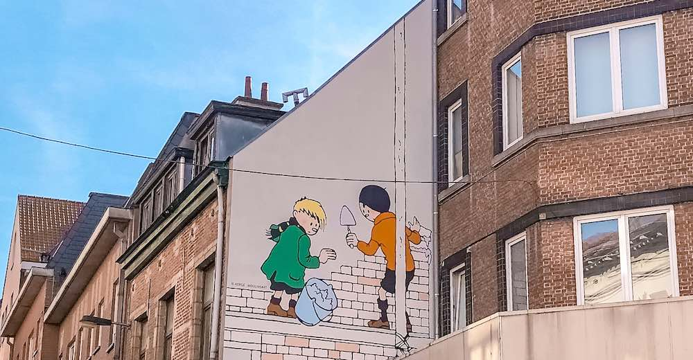 The Comic Book Route is one of the best things to do in Brussels in one day