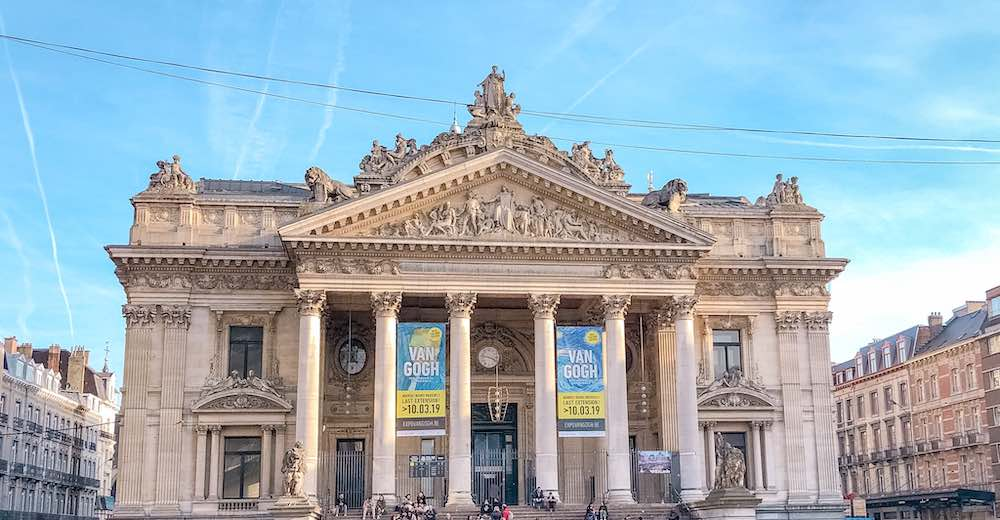 The Stock Exchange is a must see in Brussels in one day