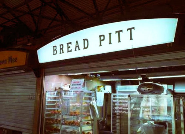 Photo of a bakery called Bread Pitt