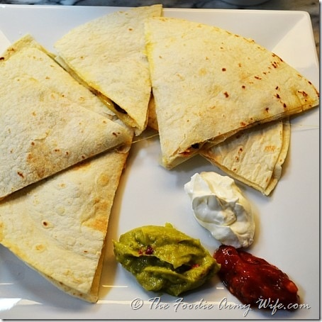 Quesadillas from Cosmopolitan Cornbread