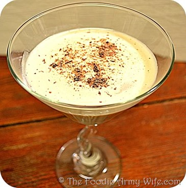 Chocolate Martini from The Foodie Army Wife.com