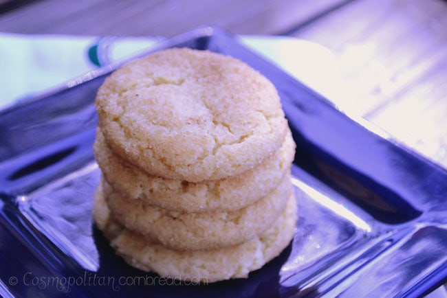 How to make delicious homemade Snickerdoodles from Cosmopolitan Cornbread