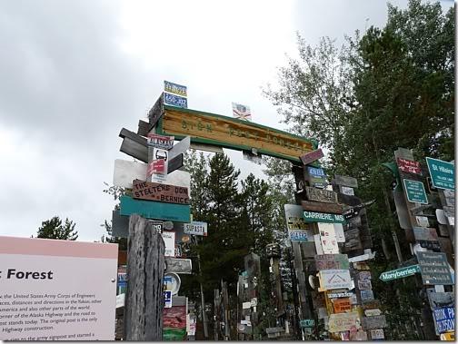 PCS: Watson Lake, Yukon Territory