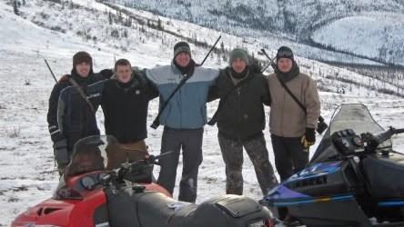 A Successful Caribou Hunt