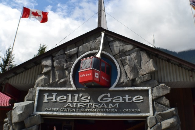 Hell's Gate in British Columbia, Canada