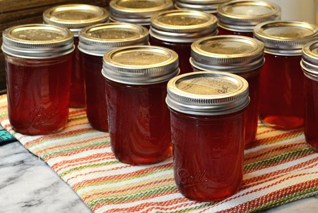 How to make Fireweed Jelly from Cosmopolitan Cornbread