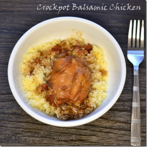 Balsamic Chicken from Cosmopolitan Cornbread