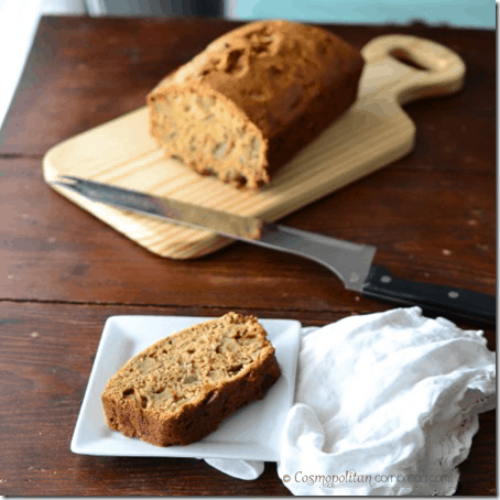 Maple Apple Bread from Cosmopolitan Cornbread
