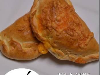 Yummy Ham & Cheese Calzones from Cosmopolitan Cornbread