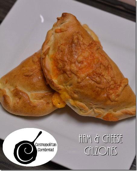 Ham & Cheese Calzones | #WeekdaySupper