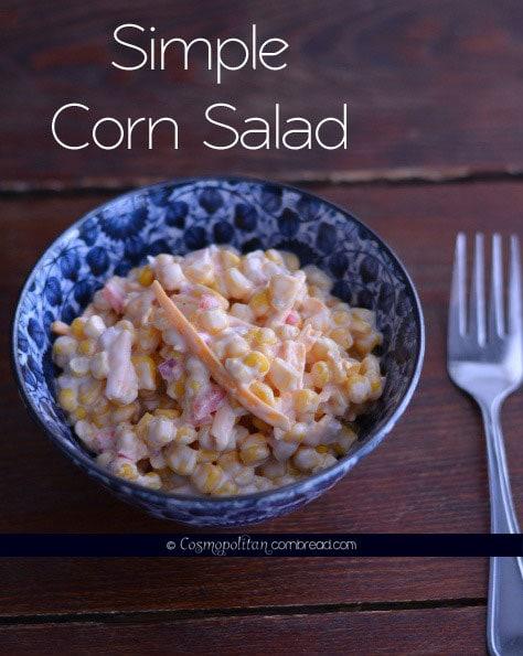 Super Simple Corn Salad