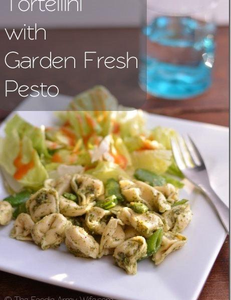 Tortellini with Garden Fresh Pesto