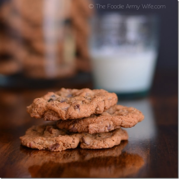 Sweep the Pantry Cookies from The Foodie Army Wife | TheFoodieArmyWife.com