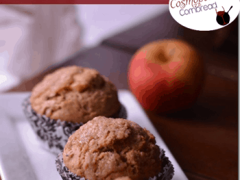 Whole Wheat Apple Walnut Muffins from Cosmopolitan Cornbread