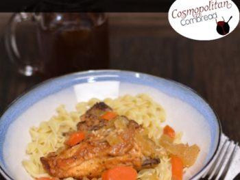 Slow Cooker Chicken Fricassee from Cosmopolitan Cornbread