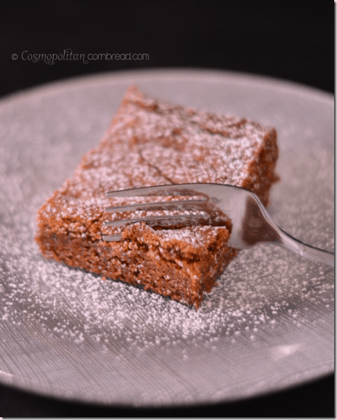 Gingerbread Brownies from Cosmopolitan Cornbread