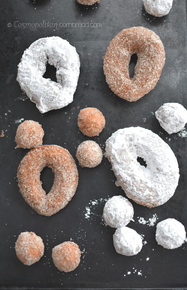 Homemade Doughnuts from Cosmopolitan Cornbread