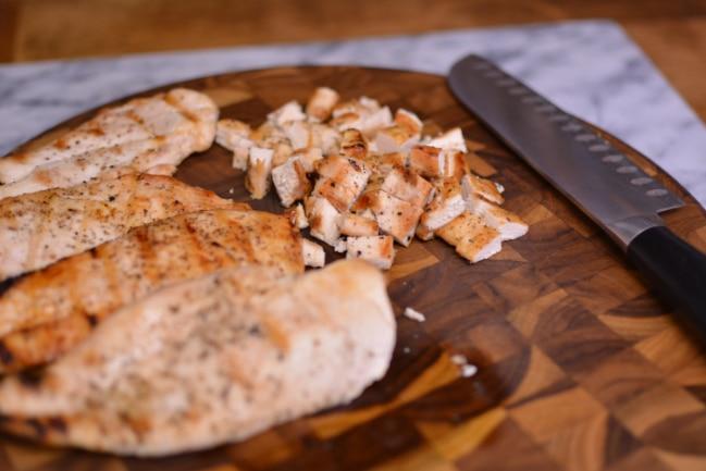 Grilled Chicken Salad Sandwiches from Cosmopolitan Cornbread