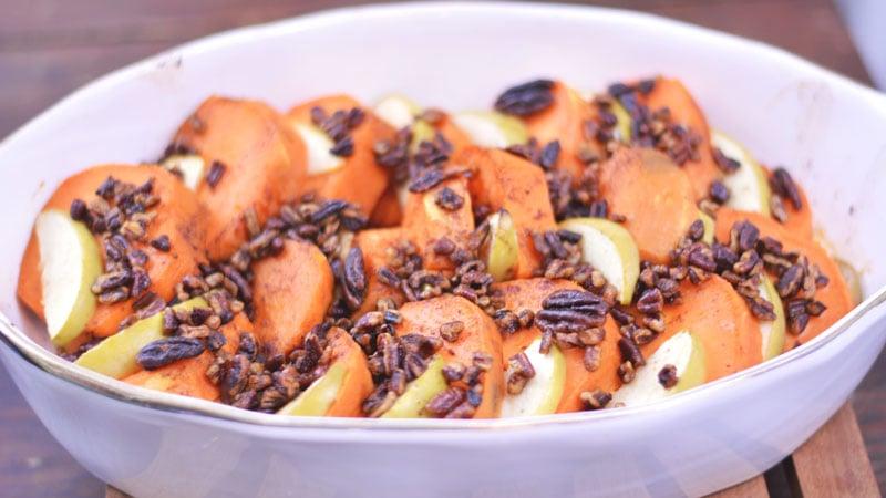 Bourbon Glazed Sweet Potatoes | Over 35 Last Minute Holiday Menu Ideas
