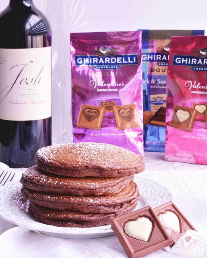 Chocolate Pancakes from Cosmopolitan Cornbread