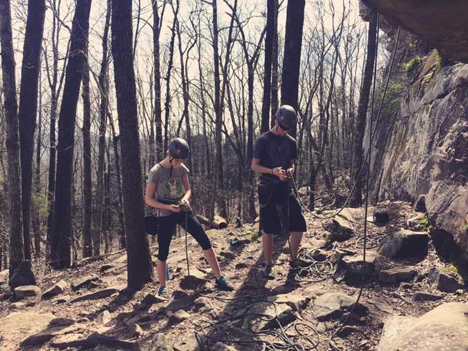 Rock Climbing at Palisades | Cosmopolitan Cornbread