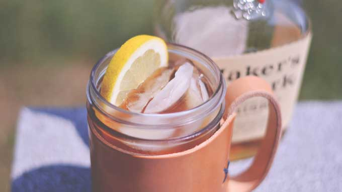 Bourbon Sweet Tea Cocktail | A Father's Day Recipe Collection