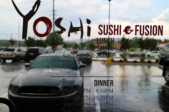 Yoshi Sushi Fusion - Huntsville, Alabama | Cosmopolitan Cornbread