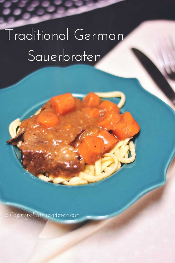 How to Make Traditional German Sauerbraten | 32 German Recipes Inspired by Oktoberfest