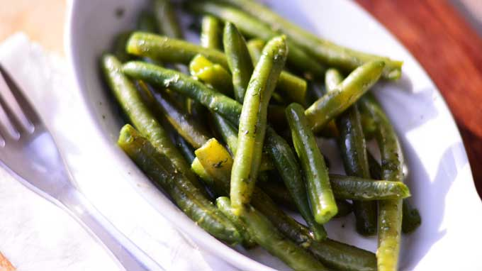 Bohnensalat – German Green Bean Salad