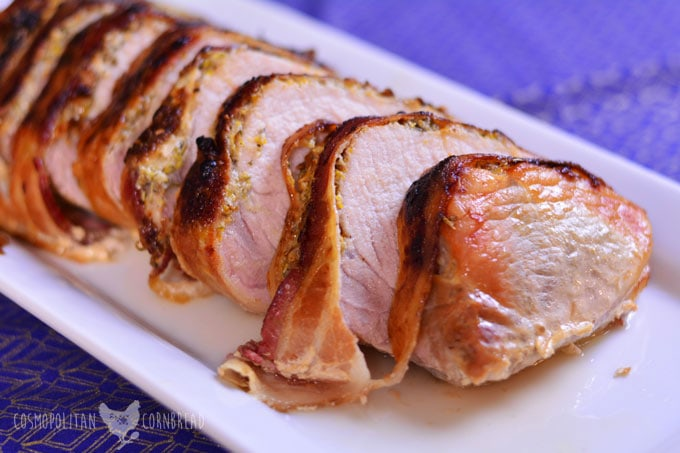 Porchetta - a beautiful Italian Pork Roast, perfect for any special occasion. Get the recipe from Cosmopolitan Cornbread
