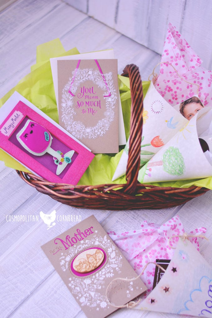 "Mother's Day & ""I Love You Baskets"" - A fun gift tutorial for all ages, inspired by one of my very fond childhood memories 