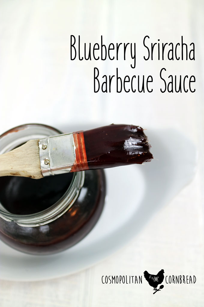 Get saucy at your next barbecue with this Blueberry Sriracha Barbecue Sauce - 20 Recipes for Summer Cookouts