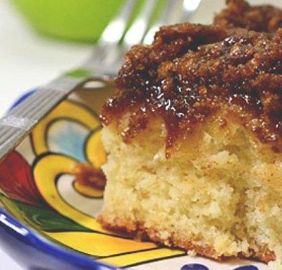 Scrumptious Apple Coffee Cake