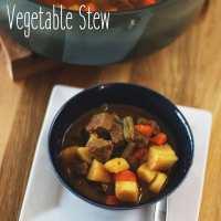 Beef & Brew Vegetable Stew