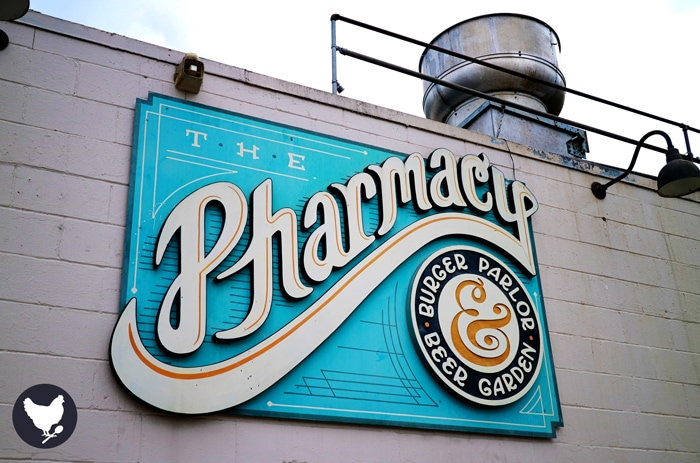 The Pharmacy - a German influenced burger parlor & beer garden in Nashville, Tennessee. | Read all about it on Cosmopolitan Cornbread.
