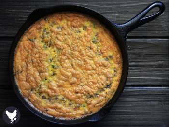 "A Paleo Skillet Frittata is a great way to start the morning, and is the perfect ""make ahead"" breakfast."