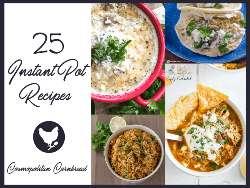25 Instant Pot Recipes for Quick and Easy Cooking!