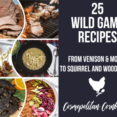 25 Wild Game Recipes