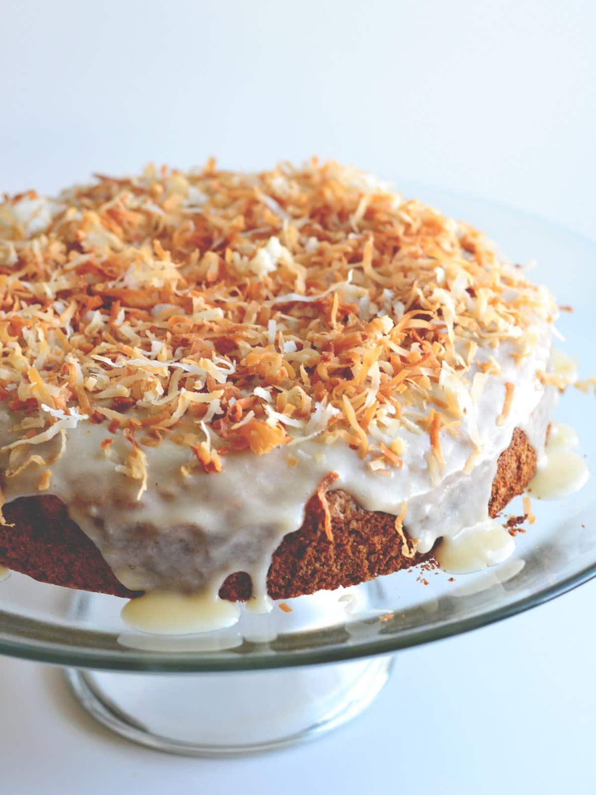 Coconut Rum Cake   Cosmopolitan Cornbread